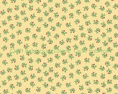 Beatrix Potter Garden Tales Fabric Collection - Tossed Radishes on Yellow 25555S - 1 Yard