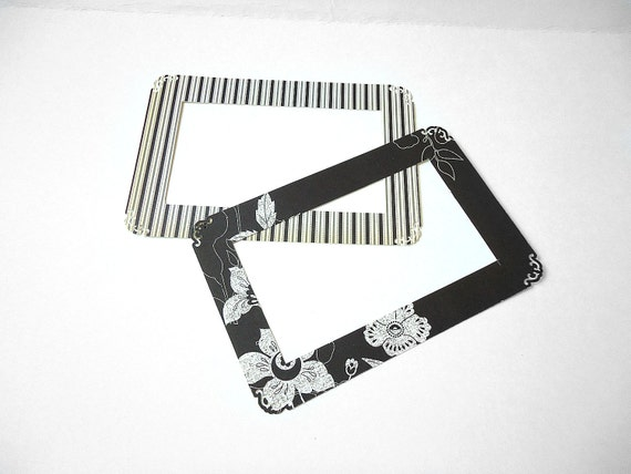 Elegant Scrapbook Picture Frames - Set of 6