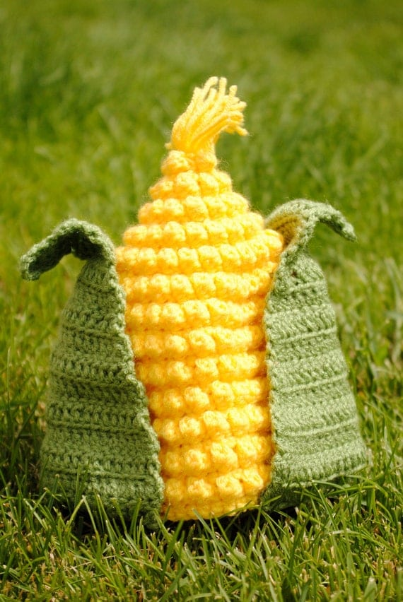 Corn Hat Crochet Pattern