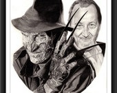 Reserved for Jason - Freddy Krueger - The Face Behind The Monster™ - Robert Englund - 8 x 10 Signed and Numbered Prints