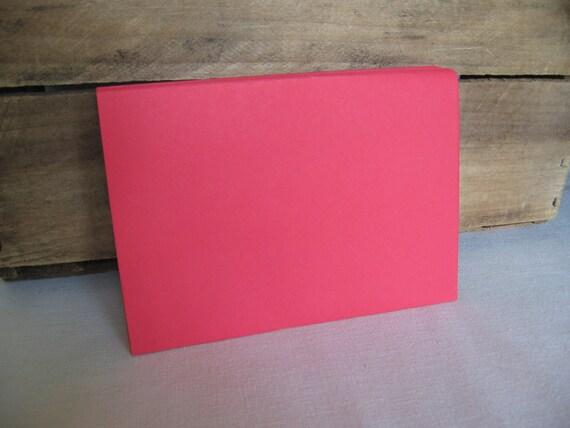 Christmas Red Envelopes Set of 25 Red Envelopes 5 x 7 1/4