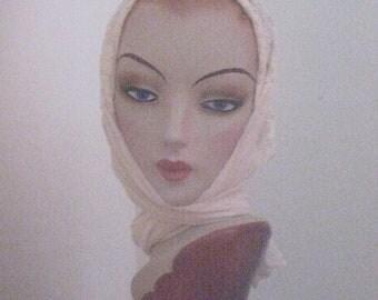 Vintage Lace Headscarf