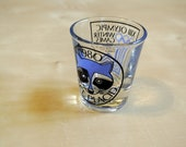 1980 Olympics Commemorative Shot Glass