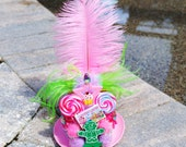 Candy Land Lollipop Mini Top Hat Fascinator