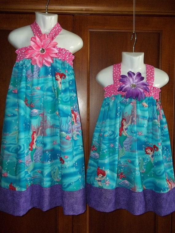 Ariel Princess Dress Disney Birthday Party Outfit Mermaid