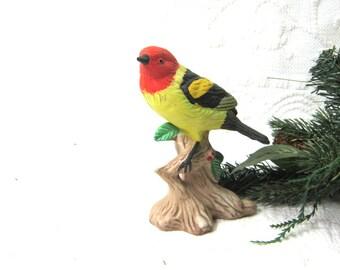 Bird Figurine Decor Collectable Nature easter Mothers Day Bird Lover Bird Watcher Gift under 15