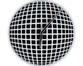 Optical Illusion Sphere Wall Clock