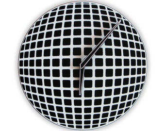 Optical Illusion Sphere Wall Clock