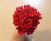 Dozen Small Duct Tape Flowers