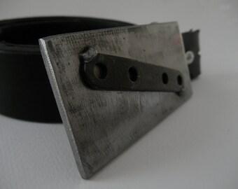 Rustic Steel Belt Buckle