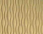 """Textured Brass Sheet 6"""" X 2.5"""" (Br77) Large Bracelet Size Texture Metal  Use With Your Rolling Mill - 24 Gauge - Jewelry Metal Emboss Metal"""