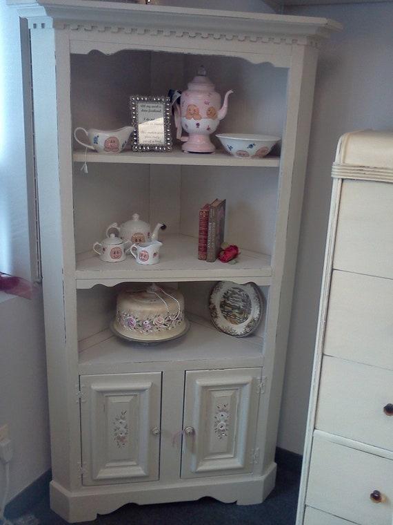 Vintage Shabby Chic Handpainted Corner By Handpaintedbycookie