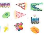 LeBayBay Pop Art Sticker Set