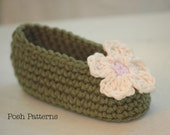 Crochet Pattern - Baby Crochet Pattern - Baby Shoes Crochet Pattern - Crochet Patterns for Babies - Crochet Patterns to Print - PDF 139