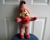Vintage Creepy Clown Carnival Prize