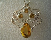 Transmute Negative Energy by wearing...The Stopable Citrine From Brazil...ON SALE