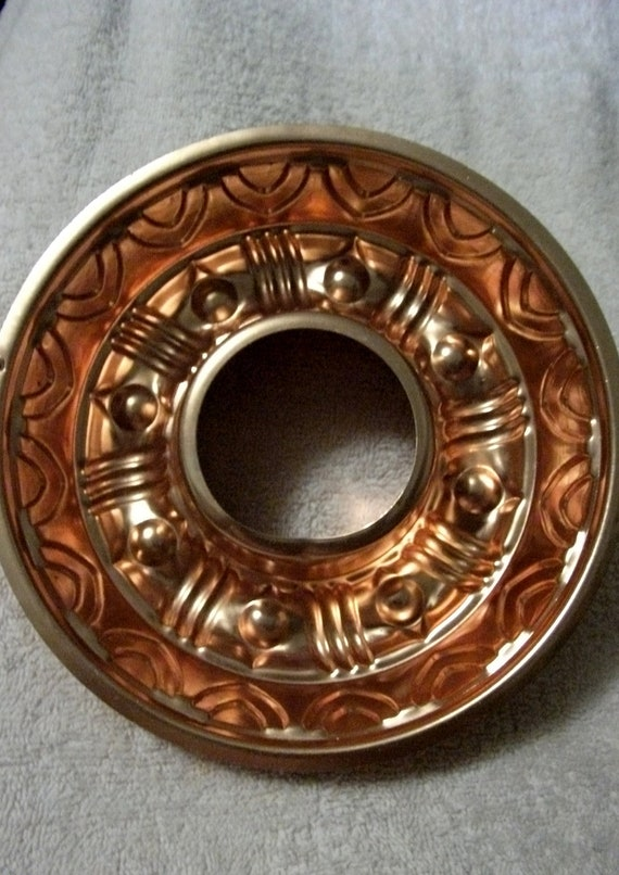 Vintage 1960s Copper Ring Mold Perfect for Punch Bowl Ice or Jello Only 4  USD