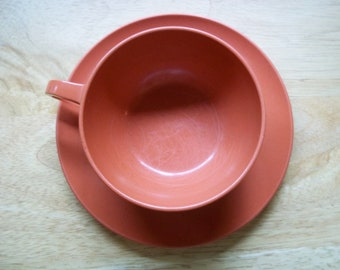 Melmac Durawear Cup and Saucer