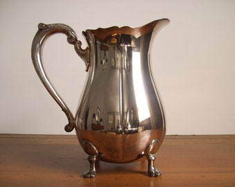 Vintage Silverplated Pitcher