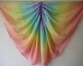 Silk Butterfly Wings, Rainbow Fairy Wings