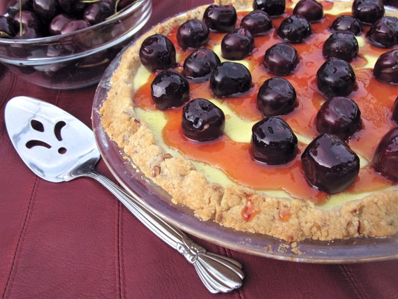 Fantastic Fresh Cherry or Fruit of choice Cheese Pie