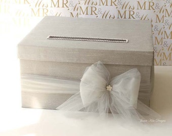 Wedding Card Box, Money Card Box  - Custom Made to Order