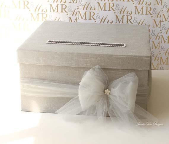 Wedding Card Box, Money Card Box  - Custom Made to Order