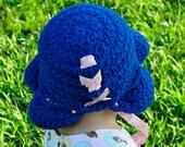 Crochet Pattern PDF - Bonnet - Thandie Star Stitch Sun Bonnet - Infant to Adult Sizes