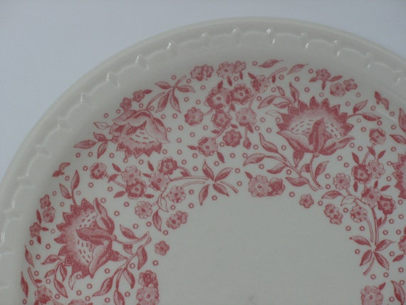 Syracuse China - Roxbury KCS Railroad Open Stock Plates, Set of 7