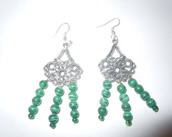 Green malecite chandeliere