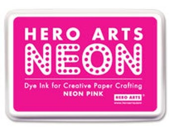 Hero Arts Neon Pink Ink Pad