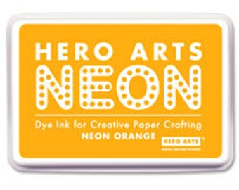 Sale Hero Arts Neon Orange Ink Pad