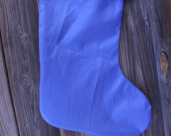 Recycled sunfish sail Christmas Stocking