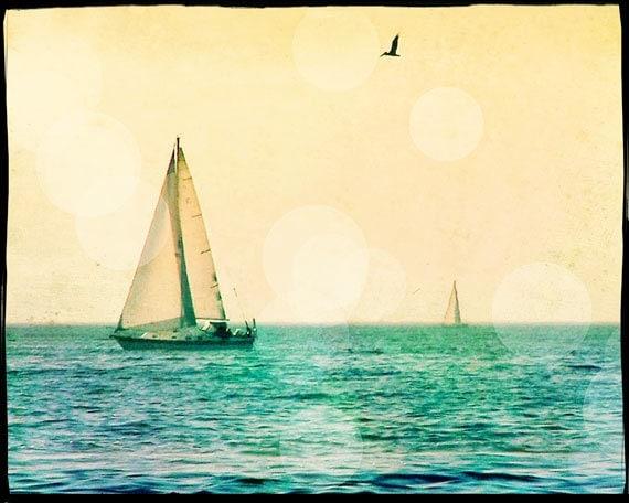 Sailing Photography Sailboat Photography Art Print Sailing