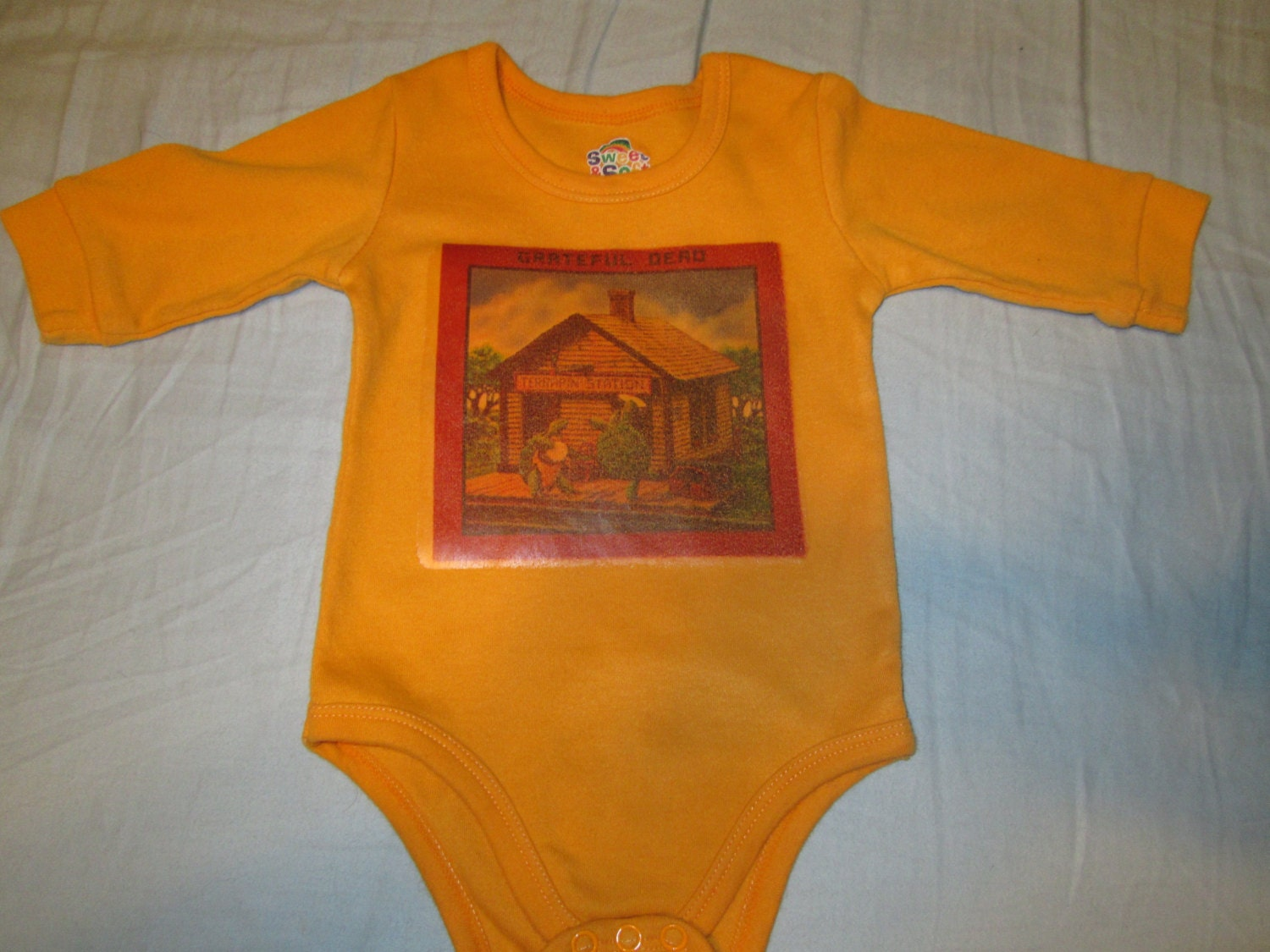 Grateful Dead Terrapin Station Yellow Baby by GratefulKidsShop