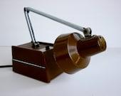 Little Brown Desk Lamp