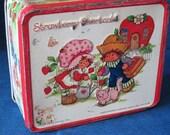 Strawberry Shortcake Childs LunchBox 1980s