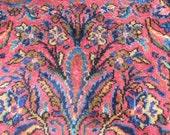 Reserved for Rachel - Vintage Oriental Wool Rug