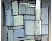 RESERVED   SALE handmade rustic curtain