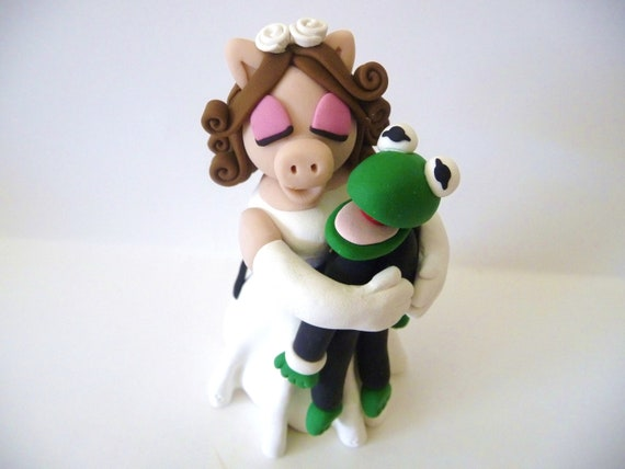 Miss Piggy and Kermit the Frog - Made to Order
