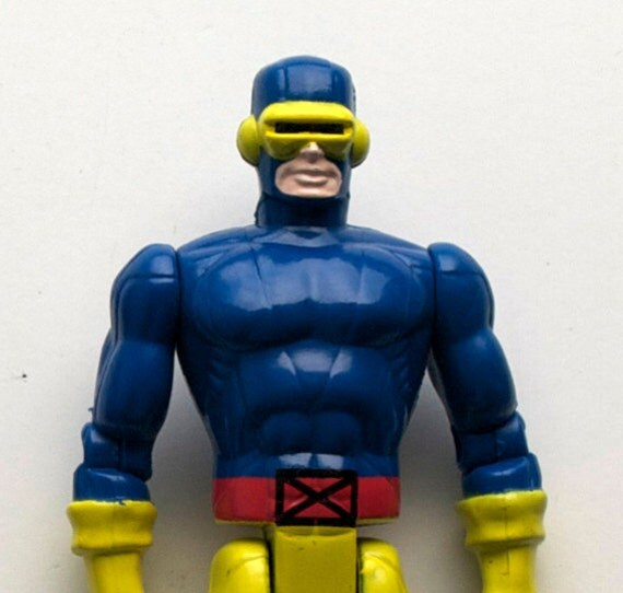 X-men Cyclops Action Figure, 1991 Vintage, Marvel Comics