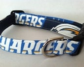 San Diego Chargers dog collar..... Your choice of size
