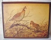Vintage Wooden Plaque Wall Hanging William Zimmerman Print