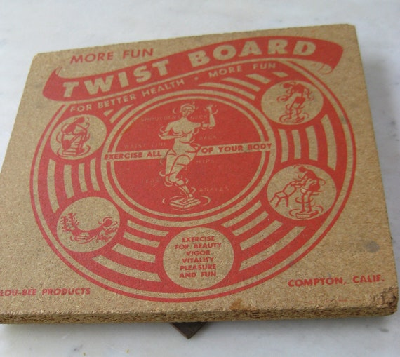Antique Exercise Twist Board