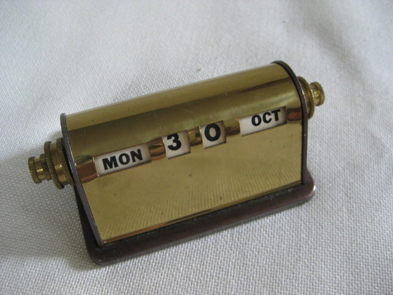 Vintage Desk Calendar 57