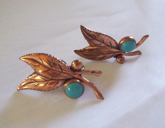 Vintage Western Style Earrings