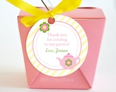 Personalized Tea Party Favor Tag - Personalized DIY Printable Digital File