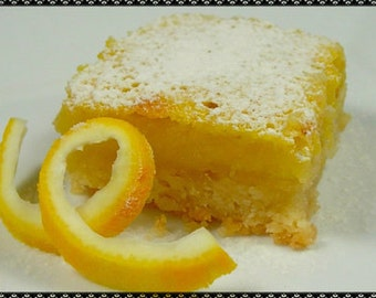 So Delicious Lemon Bar Recipe~~~Instant Download