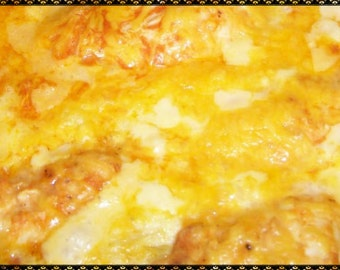 Buffalo Chicken Casserole Recipe~~~Instant Download