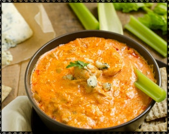 Buffalo Chicken Dip Recipe~~~Instant Download~~~Back by Request